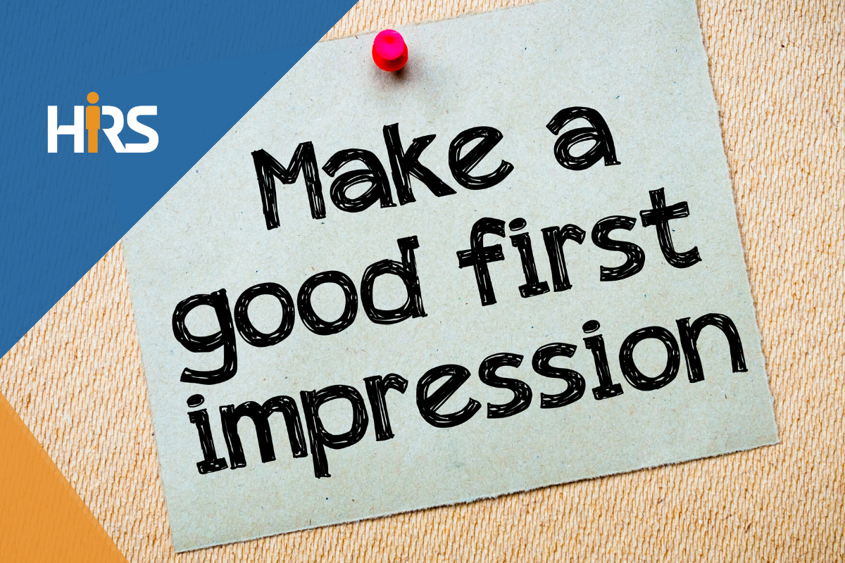Make a good first impression at work